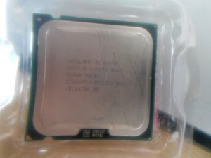 Фото: Intel® Core™2 Quad Processor Q9450  (12M Cache, 2.66 GHz, 1333 MHz FSB
